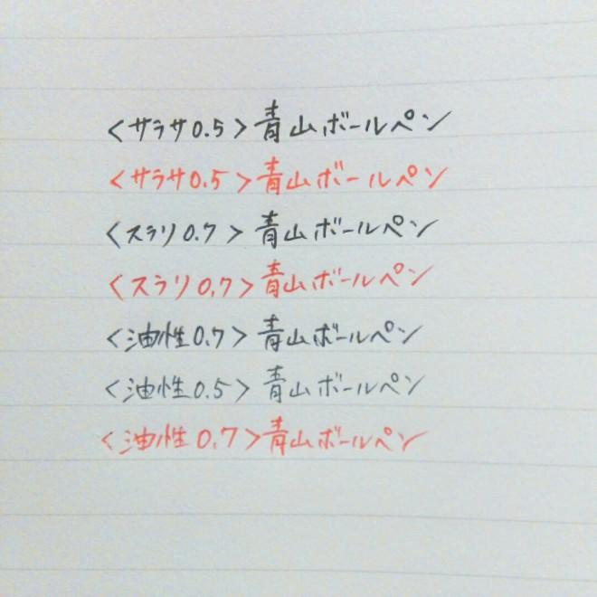 インクの選び方5