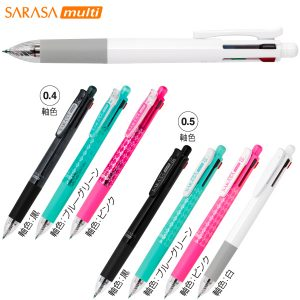 サラサマルチ 4色ジェルボールペン+シャープペン